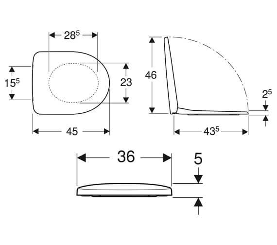 Technical drawing QS-V10208 / 500.330.01.1