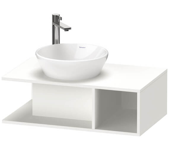 Duravit D-Neo 1 Open Compartment Wall Hung Vanity Unit