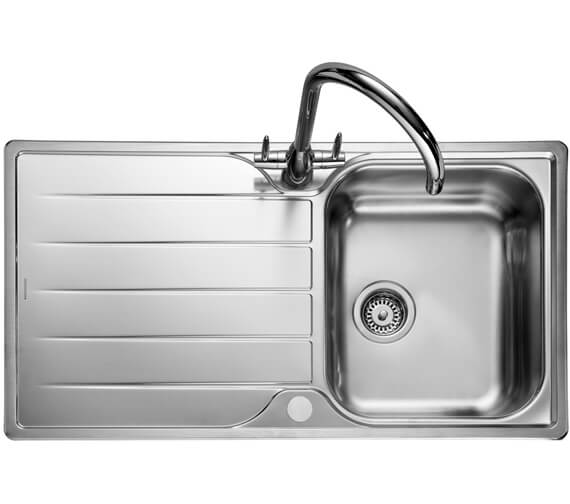 Additional image of Rangemaster Michigan Compact Stainless Steel 1.0B Inset Sink