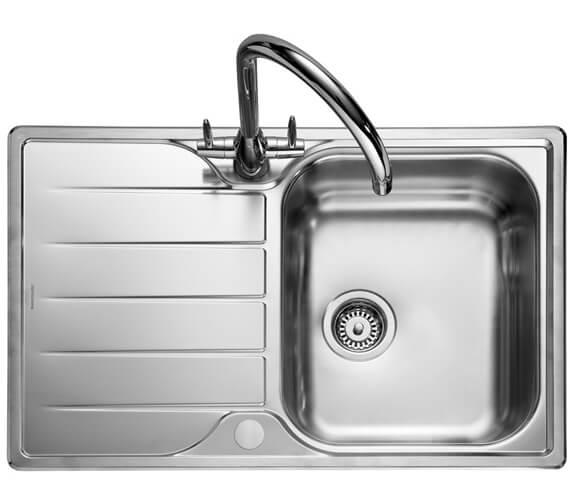 Rangemaster Michigan Compact Stainless Steel 1.0B Inset Sink