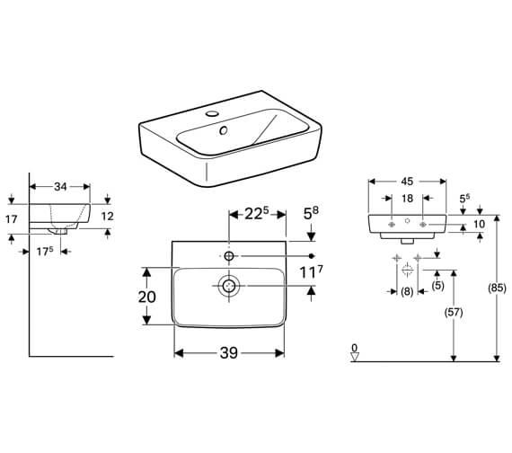 Technical drawing QS-V10255 / 501.515.00.6