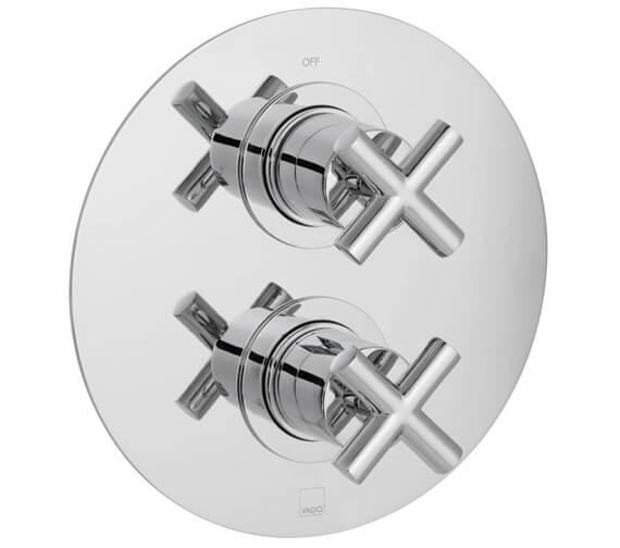 Additional image of Vado Element 1 Outlet 2 Handle Concealed Thermostatic Shower Valve