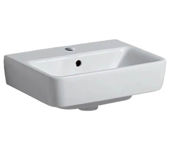 Geberit Selnova 450 x 340mm Compact Handrinse Basin