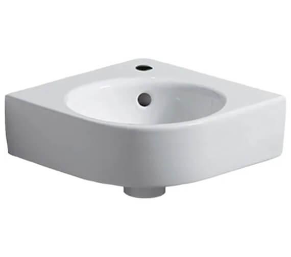 Geberit Selnova Compact Corner Handrinse Basin