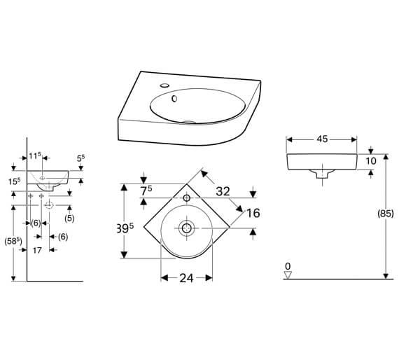 Technical drawing QS-V10261 / 501.519.00.6