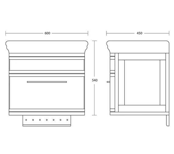 Technical drawing QS-V105611 / XE31210020