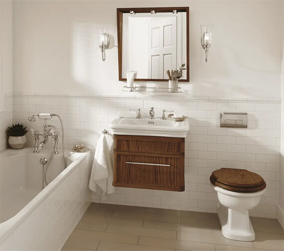 Additional image of Imperial Canterbury Medium Wall Hung Vanity Unit