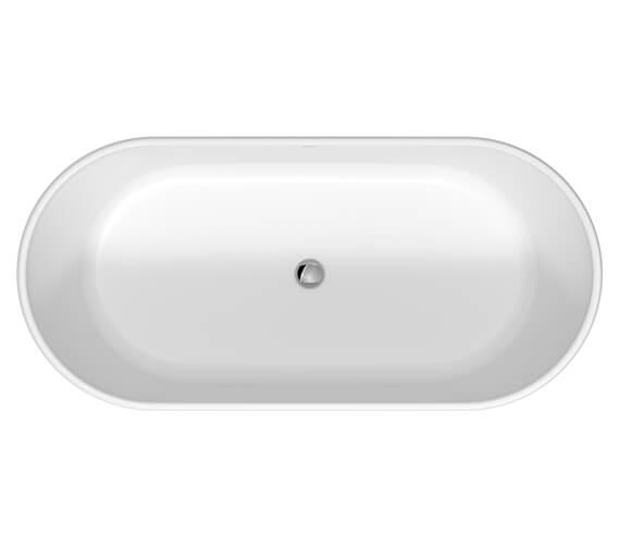 Duravit D-Neo 1600mm x 750mm Freestanding Bathtub