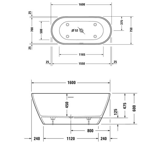 Technical drawing QS-V104574 / 700486000000000