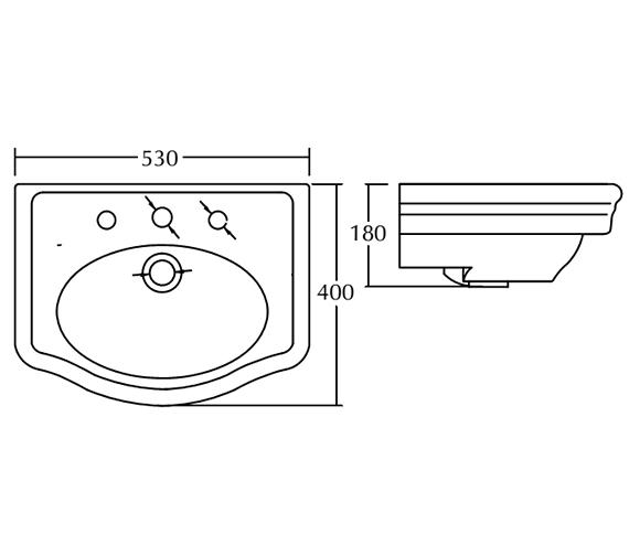 Technical drawing QS-V104097 / FI1SB11030