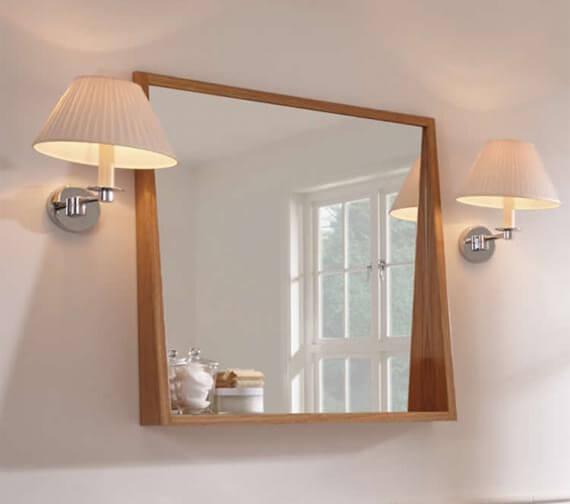 Imperial Canterbury Medium Mirror With Shelf 600 x 700mm