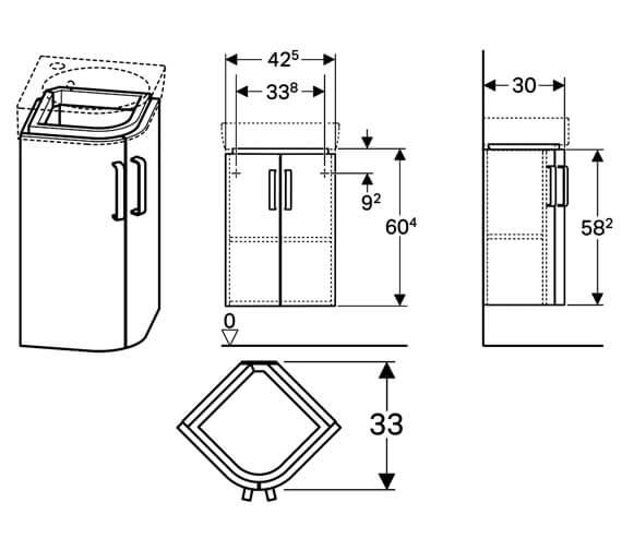 Technical drawing QS-V10282 / 501.484.00.1