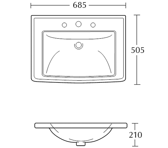 Technical drawing QS-V104098 / RD1IB11030