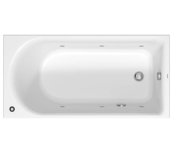 Duravit D-Neo Jet System Single Ended Bathtub