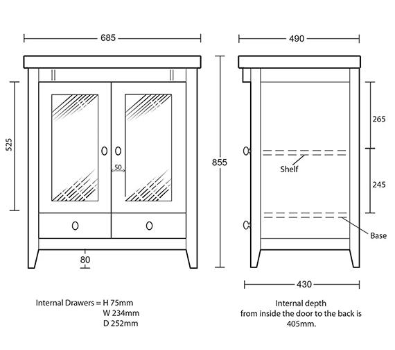 Technical drawing QS-V40680 / XW31300042
