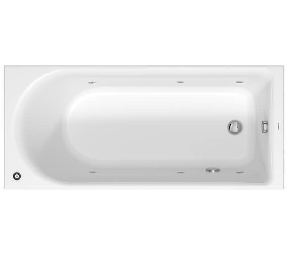 Alternate image of Duravit D-Neo Jet System Single Ended Bathtub