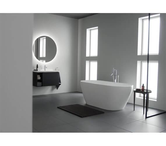 Additional image of Duravit D-Neo 1600mm x 750mm Freestanding Bathtub
