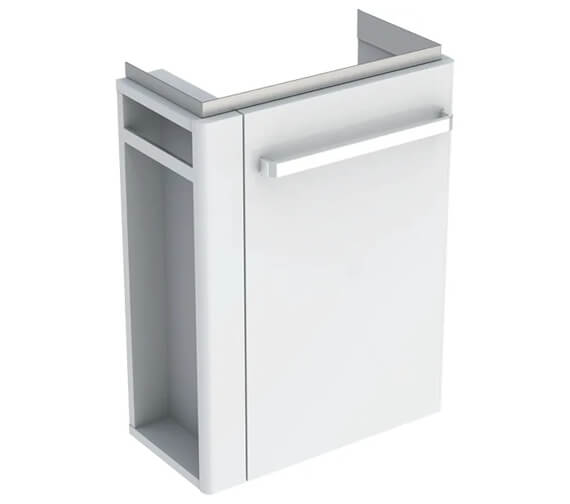 Geberit Selnova Compact Small Projection Cabinet With Towel Rail