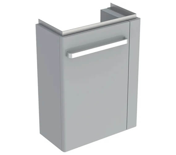 Additional image of Geberit Selnova Compact Small Projection Cabinet With Towel Rail