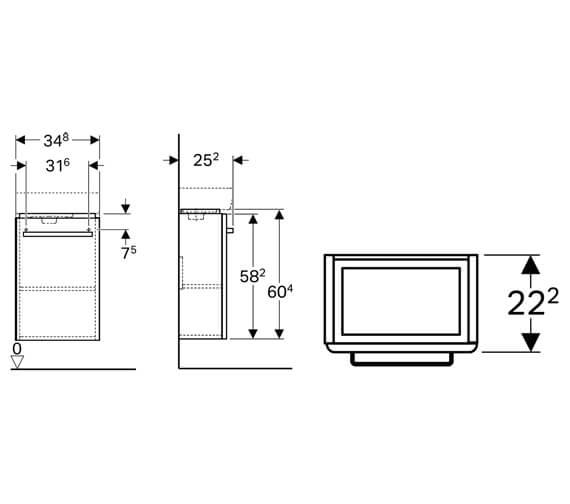 Technical drawing QS-V10278 / 501.488.00.1