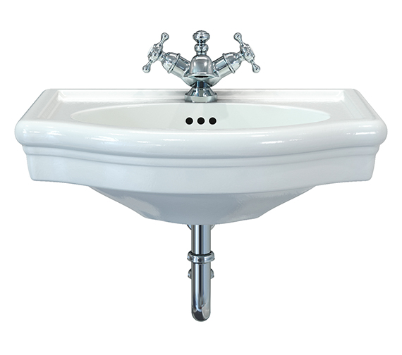 Imperial Firenze Wall Hung Cloakroom Basin 530 x 400mm