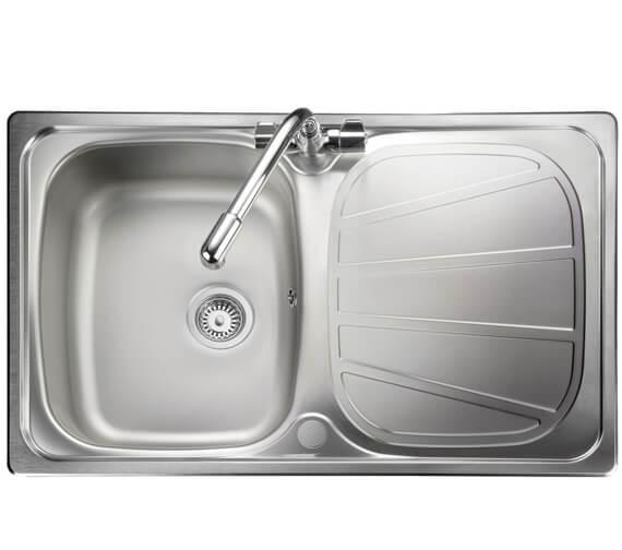 Rangemaster Baltimore Compact Stainless Steel 1.0B Inset Sink