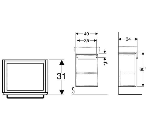 Technical drawing QS-V10285 / 501.613.01.1