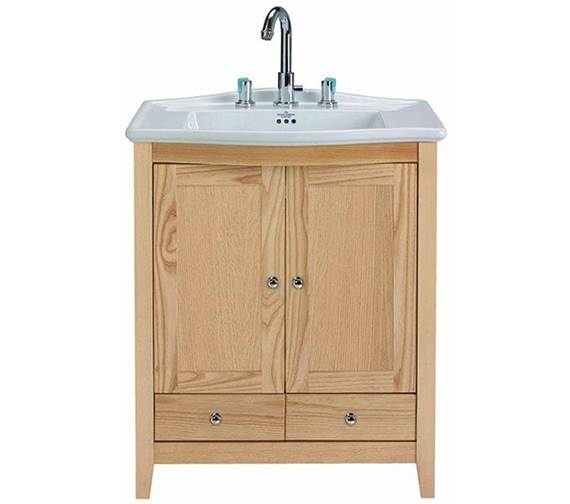 Imperial Westminster Victoria Vanity Unit With 2 Wooden Doors And 2 Drawers