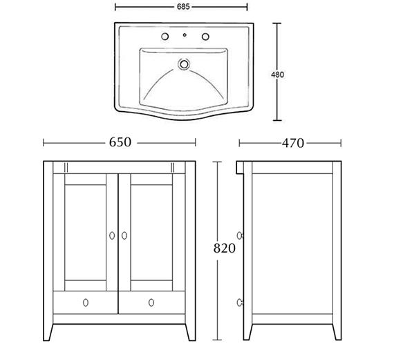 Technical drawing QS-V104100 / XW31000020