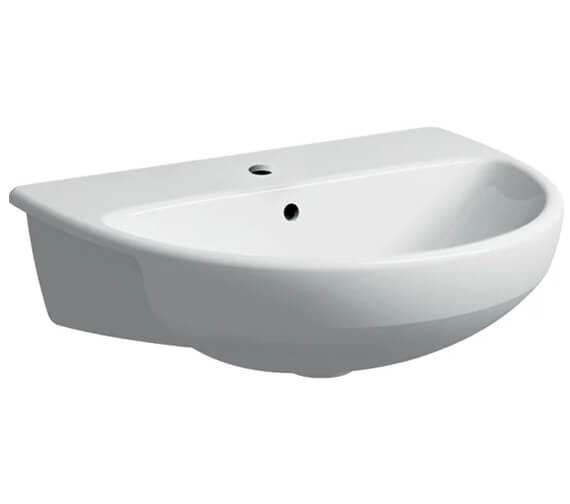 Geberit Selnova 550 x 440mm Semi Recessed Basin