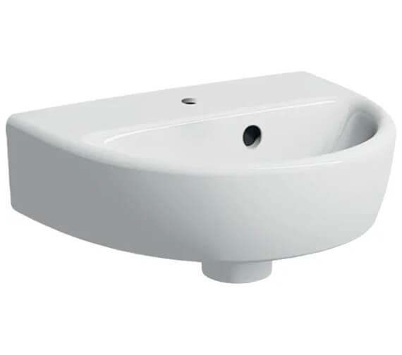 Geberit Selnova Round 360 x 290mm Handrinse Washbasin