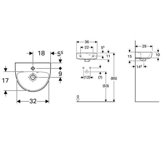 Technical drawing QS-V10705 / 501.406.00.6