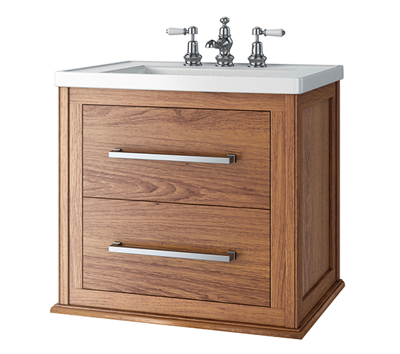 Imperial Attica Wall Hung 2-Drawer Vanity Unit 685 x 605mm