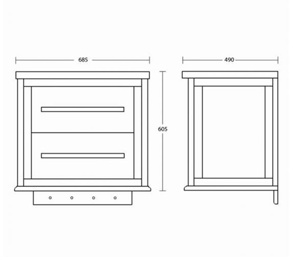 Technical drawing QS-V104104 / ZXWT0242020