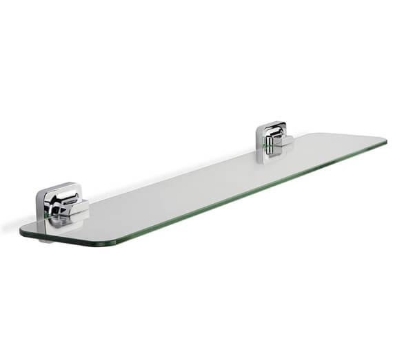 Croydex Shoreditch Flexi-Fix Clear Glass Shelf