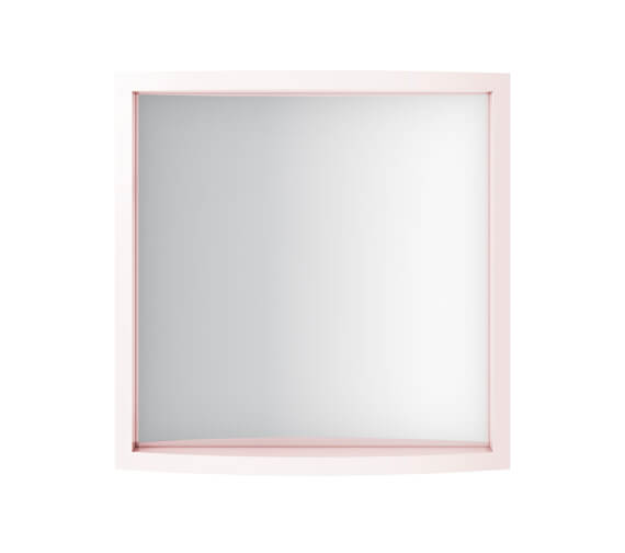 Imperial Verona Small Cloakroom Mirror 500 x 495mm - Rosedale White