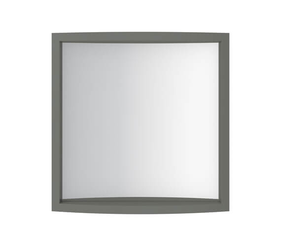 Alternate image of Imperial Verona Small Cloakroom Mirror 500 x 495mm - Rosedale White