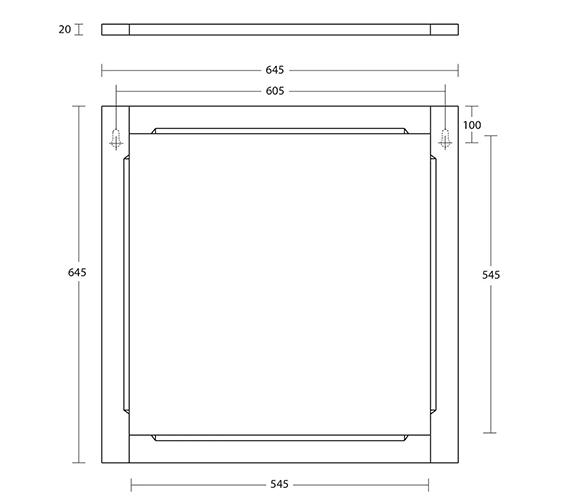 Technical drawing QS-V104106 / XG39400001