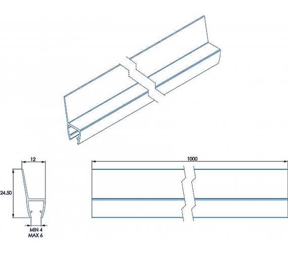 Technical drawing QS-V55457 / AM161332