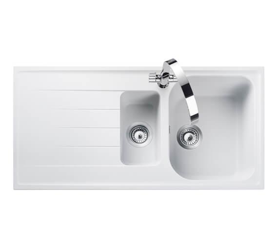 Rangemaster Amethyst 1.5 Bowl Igneous Granite Sink