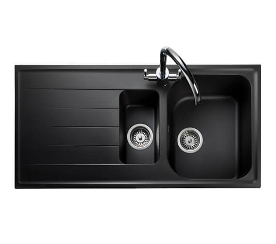 Additional image of Rangemaster Amethyst 1.5 Bowl Igneous Granite Sink