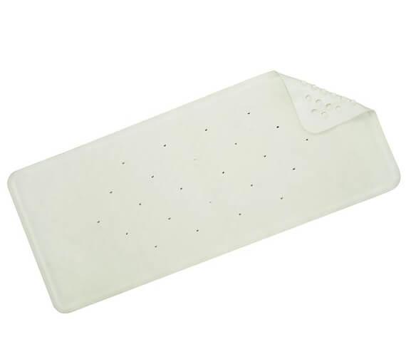 Croydex Rubagrip White Bath Mat