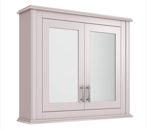 Alternate image of Imperial Thurlestone 2 Door Wall Cabinet With Mirrors 730 x 640mm
