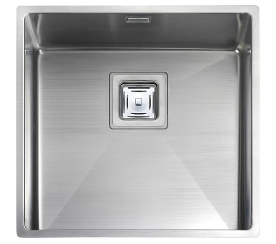 Alternate image of Rangemaster Atlantic Kube Stainless Steel 1.0B Undermount Sink