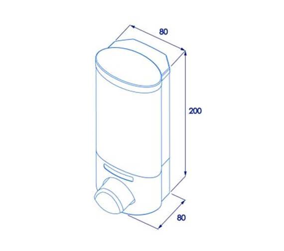 Technical drawing QS-V23942 / PA660522