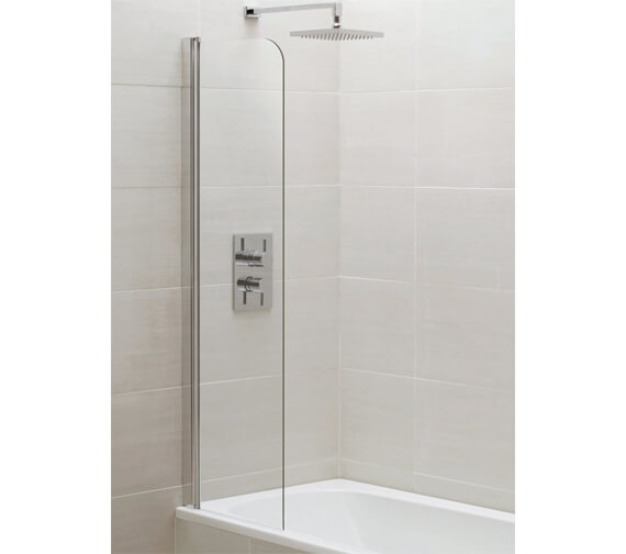 Aquadart Venturi 6 300 x 1400mm Mini Bath Screen