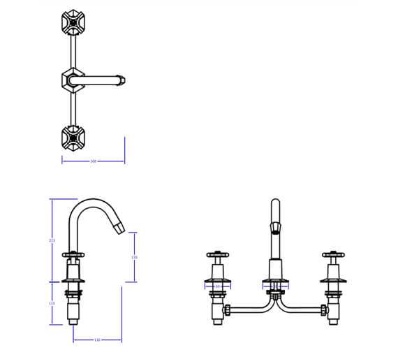 Technical drawing QS-V80112 / WF135DPC
