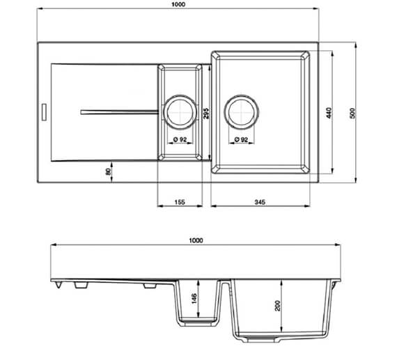 Technical drawing QS-V89133 / SCO1052AS/