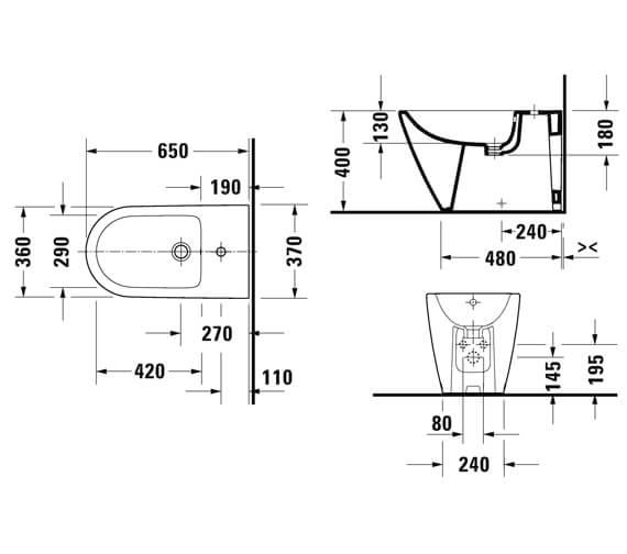 Technical drawing QS-V104553 / 2294100000