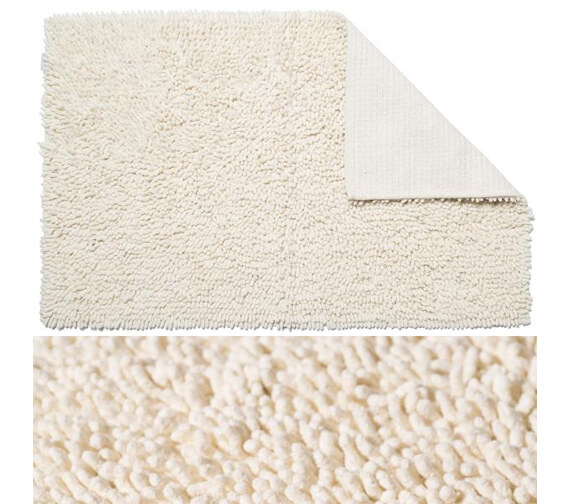 Croydex 800 x 500mm Cotton Bathroom Mat